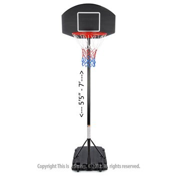 Junior League Basketball hoop and stand