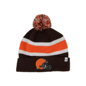 NFL Cleveland Browns Men's Breakaway Knit Cap, One Size, Brown at Amazon.com