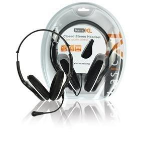 BasicXL BXL-HEADSET30 Stereo Headset