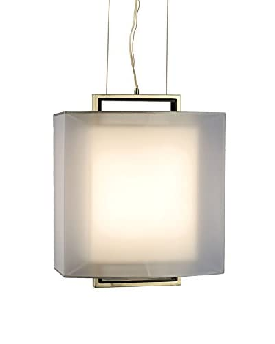 Nova Lighting Amarillo 2 Pendant, Brushed Nickel