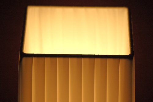 Tischlampe DIVA Plissee 43,5cm