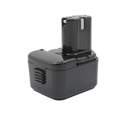 KINSUN Utensili Elettrici Batteria 12V 3.0Ah Ni-MH Per Hitachi EB 1212S EB 1214L EB 1214S EB 1220BL EB 1220HL EB 1220HS EB 1230HL