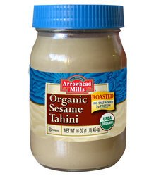 Arrowhead Mills Organic Sesame Roasted Tahini , 16 oz (Pack of 6)