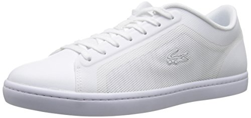 Lacoste Women's Straightset 116 4 Fashion Sneaker, White, 8 M US