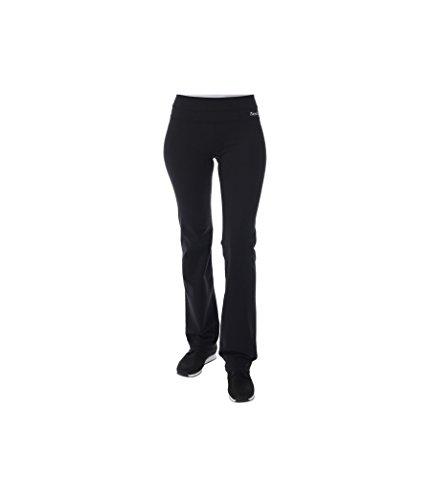 Bench, Pantaloni Donna in jersey Matsya, Nero (Jet Black), XS