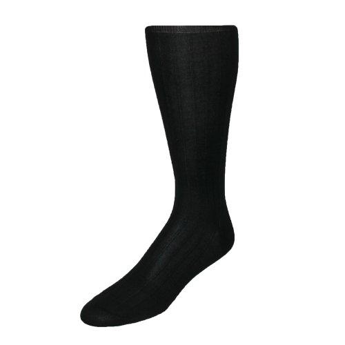 Windsor Collection Men's Cotton Over the Calf Dress Trouser Socks