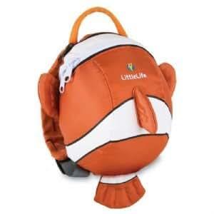 LittleLife Animal Daysack Backpack, 100-Percent Synthetic Nylon, Top grab handle, Clown Fish bébé, nourrisson, enfant, jouet