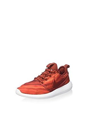 Nike Zapatillas W Roshe Two Print (Rojo Oscuro)