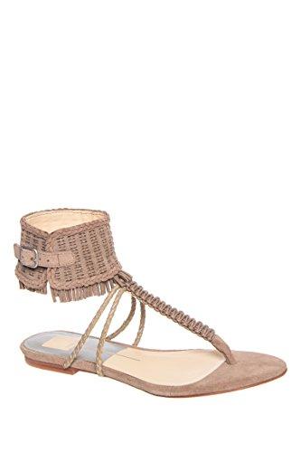 Reagan Ankle Strap Flat Sandal