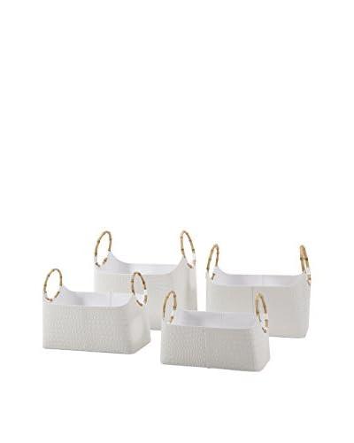 Set of 4 Amelia Magazine Baskets