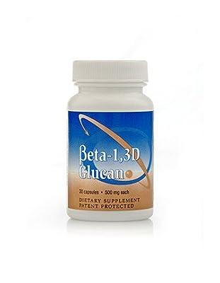 Beta 1,3D Glucan 500mg 30 Capsules