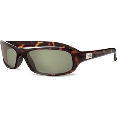 Bolle Sport Fang Sunglasses (Dark Tortoise/Polarized Axis,)