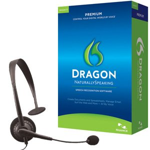 Dragon Naturallyspeaking Premium 11.0 Us Mailer with Headset