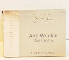 Dead Sea Spa Silver Edition Anti Wrinkle Day Cream 1.69 fl. Oz.