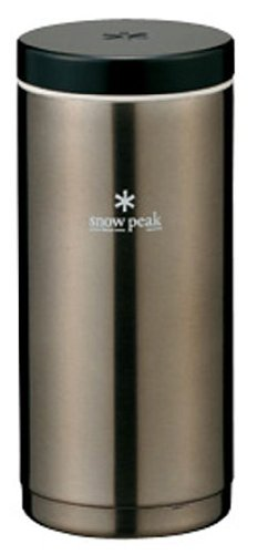 Snow Peak Kanpai Bottle, 350ml, Dark Silver (Snow Peak Travel Mug compare prices)