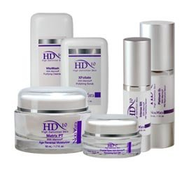 Hd 10 High Definition Skin Care System Includes: 1 Vitawash Purifying Cleanser, 1 Xfoliate Polishing Scrub, 1 Platinum 02 Pm Restructure Serum, 1 Intense Six Am Tightening Serum, 1 Matrixpt Age Reversal Moisturizer, 1 Crystal Eyes Renewing Eye Gel - (Pc93