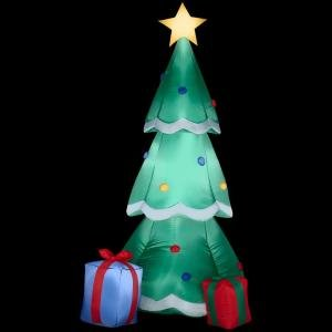 : CHRISTMAS DECORATION LAWN YARD INFLATABLE AIRBLOWN CHRISTMAS TREE ...