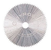 "Gyros 81-10815 Saw Blade, Fine-Teeth 7/8"" Dia. For Dremel Type Tools"