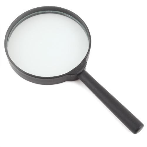 Reading 5X Magnifier Hand Held Magnifying Glass 1# 75Mm Random Colors