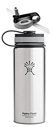 Hydro Flask Insulated Stainless Steel Water Bottle, Wide Mouth, 18