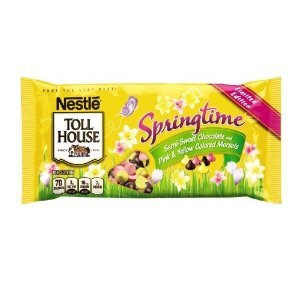 Nestle Toll House Springtime Semi-sweet Chocolate Chips, 10 Oz., (Pack of 4)