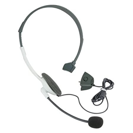 CommonByte NEW LIVE HEADSET WITH MICROPHONE W/MIC FOR XBOX 360 WIRELESS CONTROLLER