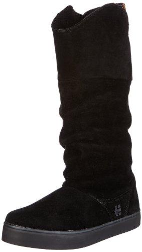 Etnies Womens SIESTA W'S Combat Boots Black Schwarz (BLACK/BROWN 590) Size: 2.5 (35 EU)