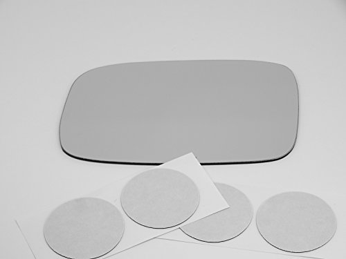 02-03 Lexus ES300, 04-06 ES330, 98-05 GS300, 01-05 GS430, Left Driver Side Mirror Glass Lens, Direct Fit-Over Option for Auto-Dimming Mirrors (Mirror Does Not Auto Dim) USA