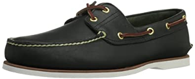 Timberland Classic 2 Eye, Men's Boat Shoes, Blue, 5.5 UK