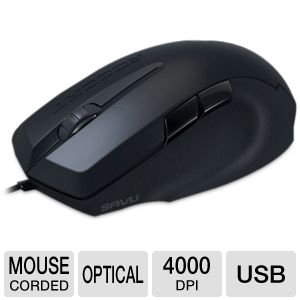 ROCCAT Savu Mid-Size Hybrid Gaming Mouse (ROC-11-600)