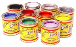 One Shot Pinstriping Paint Primary Color Kit 1 Shot