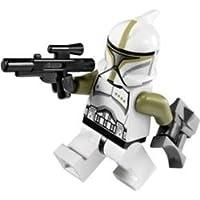 Lego Star Wars Clone Trooper Sergeant Minifigure with blaster & binoculars