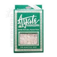 Ayate Washcloth, 100% Natural Agave Fiber, 1 washcloth (U Smooth Hair Brush compare prices)