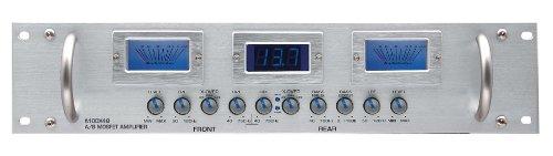 Audiobahn a100 q 4 x 4 canaux classe a/b amplificateur mosfet amplificateur