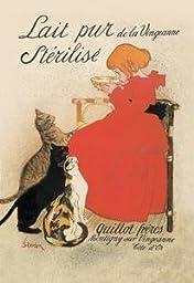 12 X 18 Stretched Canvas Poster Lait pur de la Vingeanne Sterilise