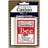 Bee Club Special Playing Cards 1 ea (Color May Vary) (Pack of 6)