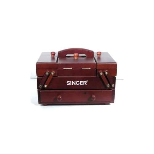 Amazon.com: Singer: 160-piece Wooden Sewing Caddy
