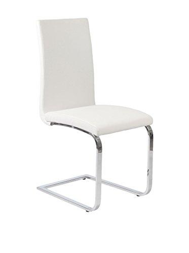 Eurostyle Santos Side Chair, White