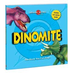 Spinner Books for Kids - Dinomite