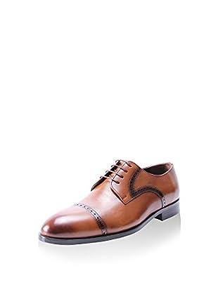 E.GOISTO Zapatos derby Cap Toe (Marrón)