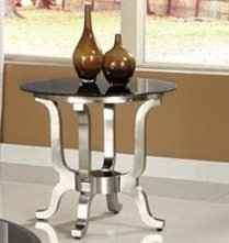 Cheap 22″H Contemporary Rosa Chrome End Table (AC-80007)