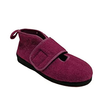 Women's Wide Boot Slipper Size / Color: 6 / Dusty Rose