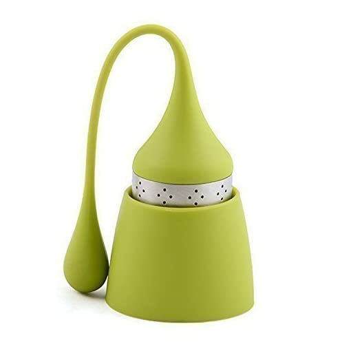 iNeibo-teesieb-tea-infuser-tee-ei-teefilter-teekugel-1-bunte-wichtel-mit-einem-langen-zipfel-sympathisches-und-hochfunktionales-design-aus-rostfreiem-Edelstahl-und-lebensmittel-silikon-pba-frei-1-Stck