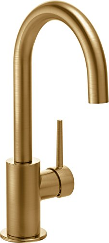 Delta Faucet 1959LF-CZ Trinsic, Single Handle Bar/Prep Faucet, Champagne Bronze (Delta Single Handle Bar Faucet compare prices)