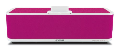 Yamaha PDX-50 Wireless Speaker Dock for iPod and iPhone (Pink)