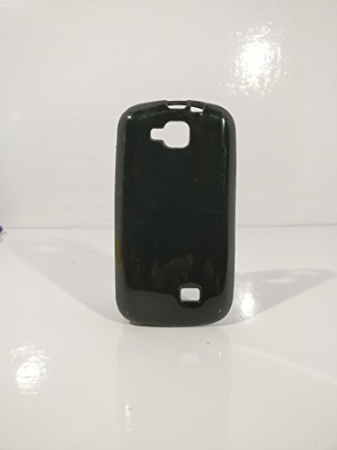 iCandy™ Colorfull Thin Soft TPU Back Cover For Micromax Canvas Fun A63 - Black  available at amazon for Rs.109
