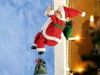 """Kletternder Weihnachtsmann """"Santa Crawl"""""""
