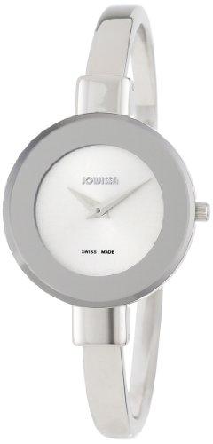 Jowissa Women's J6.137.M Bangle Silver dial watch.