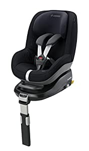 Maxi-Cosi Pearl Group 1 Toddler Car Seat (Total Black)