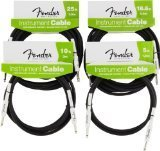 Accessoires guitare FENDER CABLE INSTRUMENT PERFORMANCE SERIES 1,5 M NOIR Cable instrument